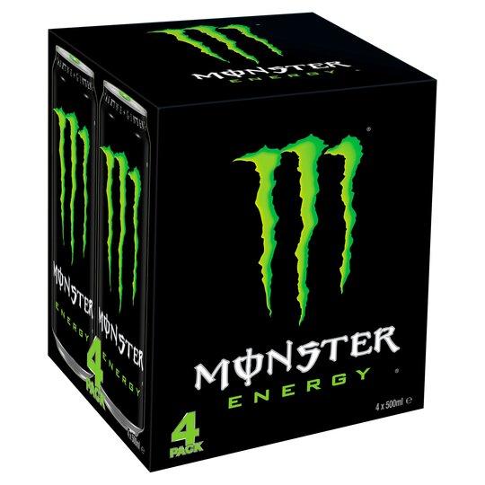 image 1 of Monster Origin Energy Drink 4 X 500Ml