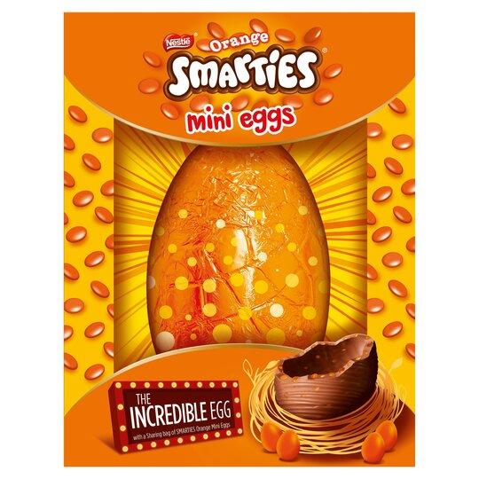 Nestle Smarties Orange Chocolate Egg 480G
