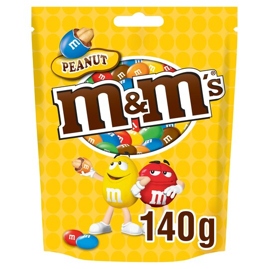 image 1 of M&Ms Peanut Pouch 140G