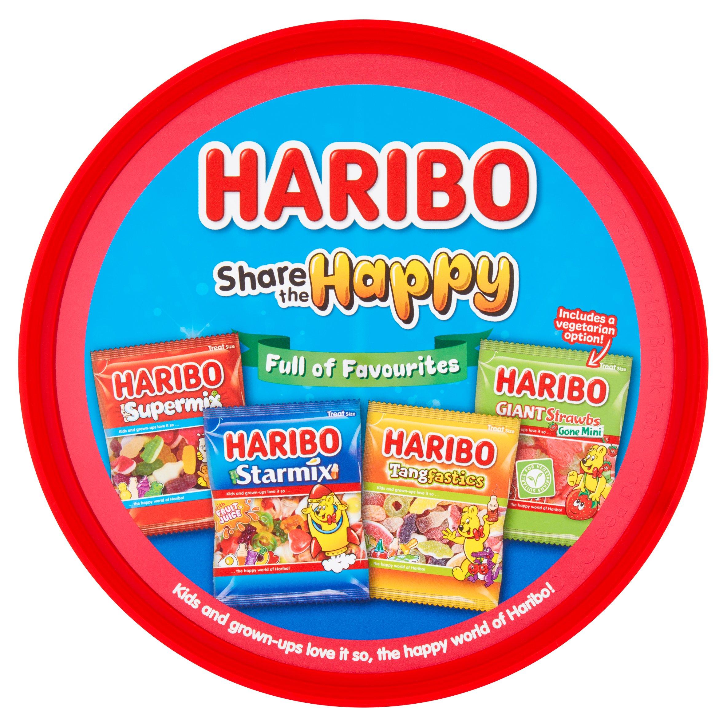 Haribo Share The Happy Tub 600G
