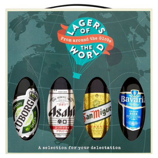 Lagers of the World Gift Set - Tesco