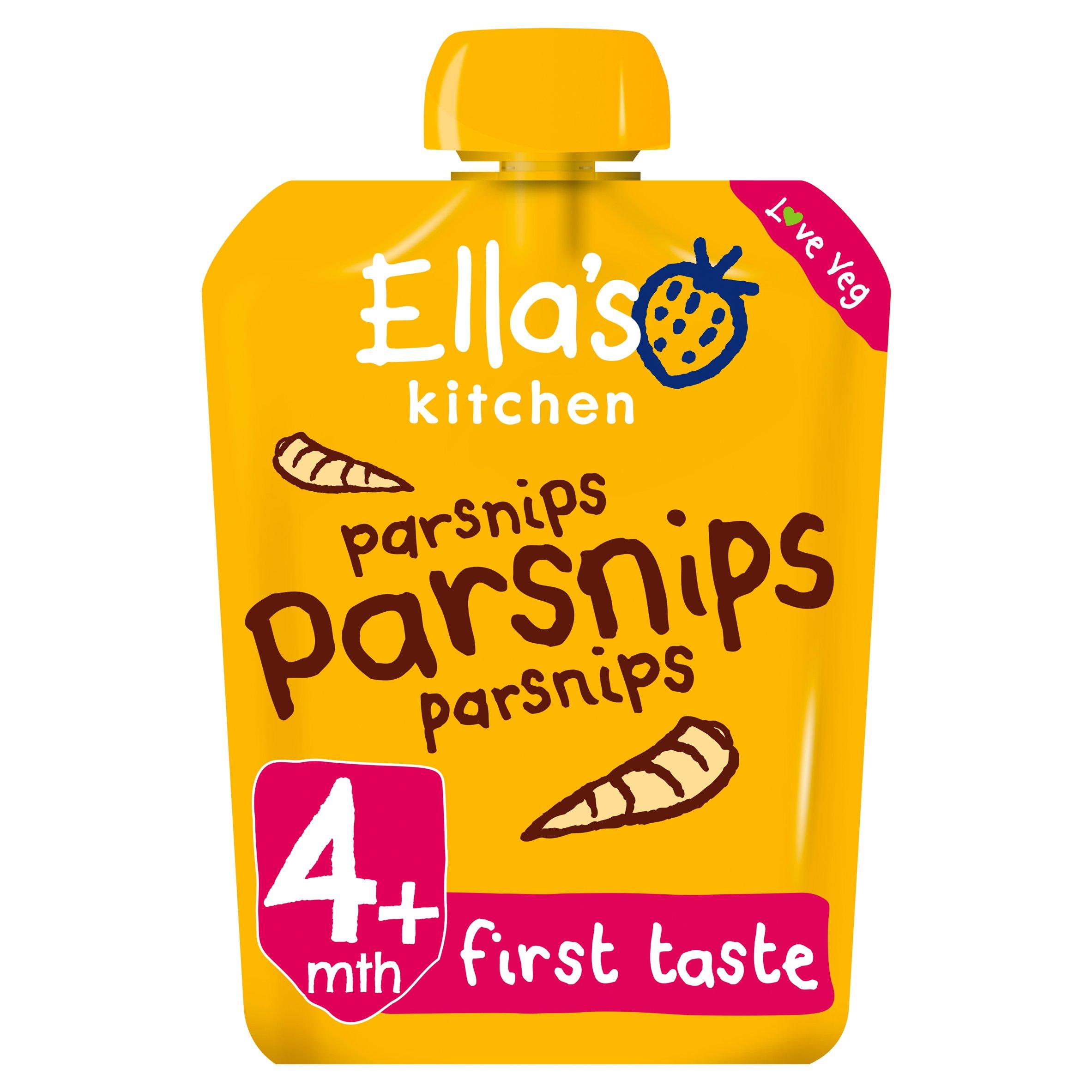 Ella's Kitchen Parsnips 70G