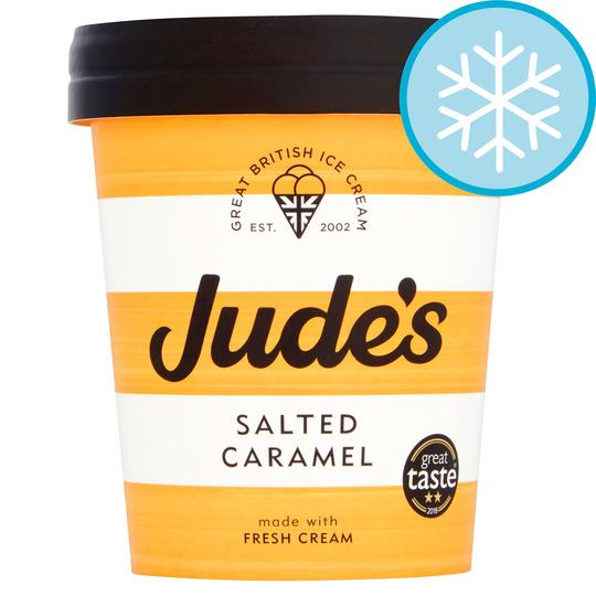 image 1 of Judes Salted Caramel Ice Cream 460Ml