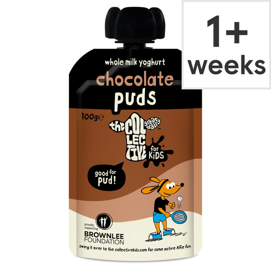 The Collective Dairy Kids Puddings Chocolate Yogurt 100G