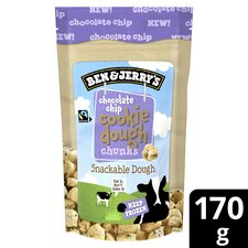 image 1 of Ben & Jerry's Cookie Dough Chocolate Chip Chunks 170G