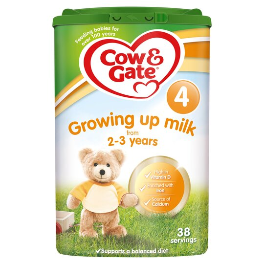 Cow & Gate 4 Growing Up Milk Powder 2+ Years 800G