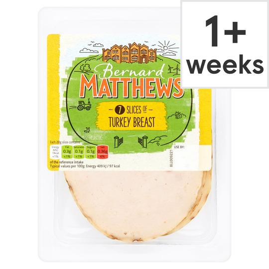 Bernard Matthews Sliced Turkey Breast 140G