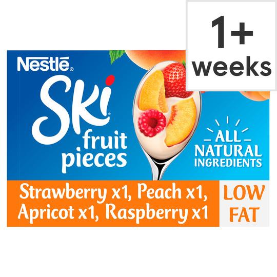 Ski Variety Fruit Yogurt 4X120g