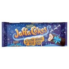 image 1 of Mcvitie's Jaffa Cakes 5 Festive Orange Yule Logs