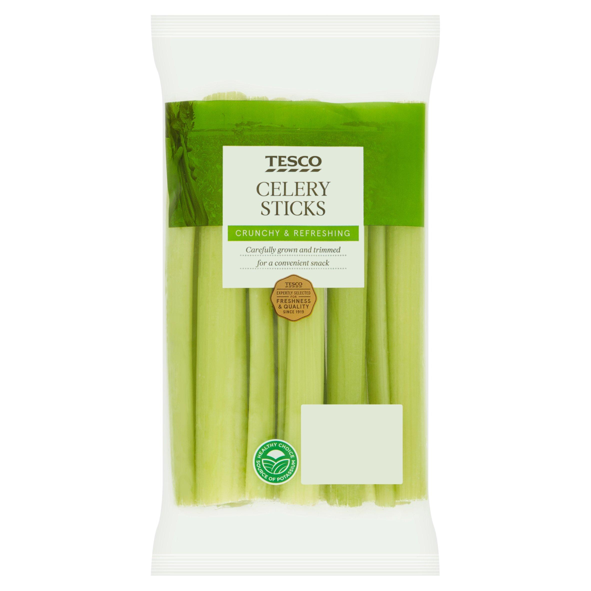 Tesco Celery Sticks 250G