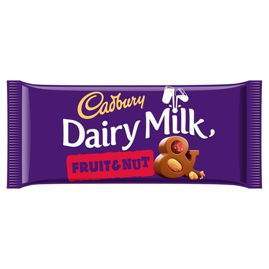 Cadbury Dairy Milk Fruit & Nut Chocolate Bar 200G