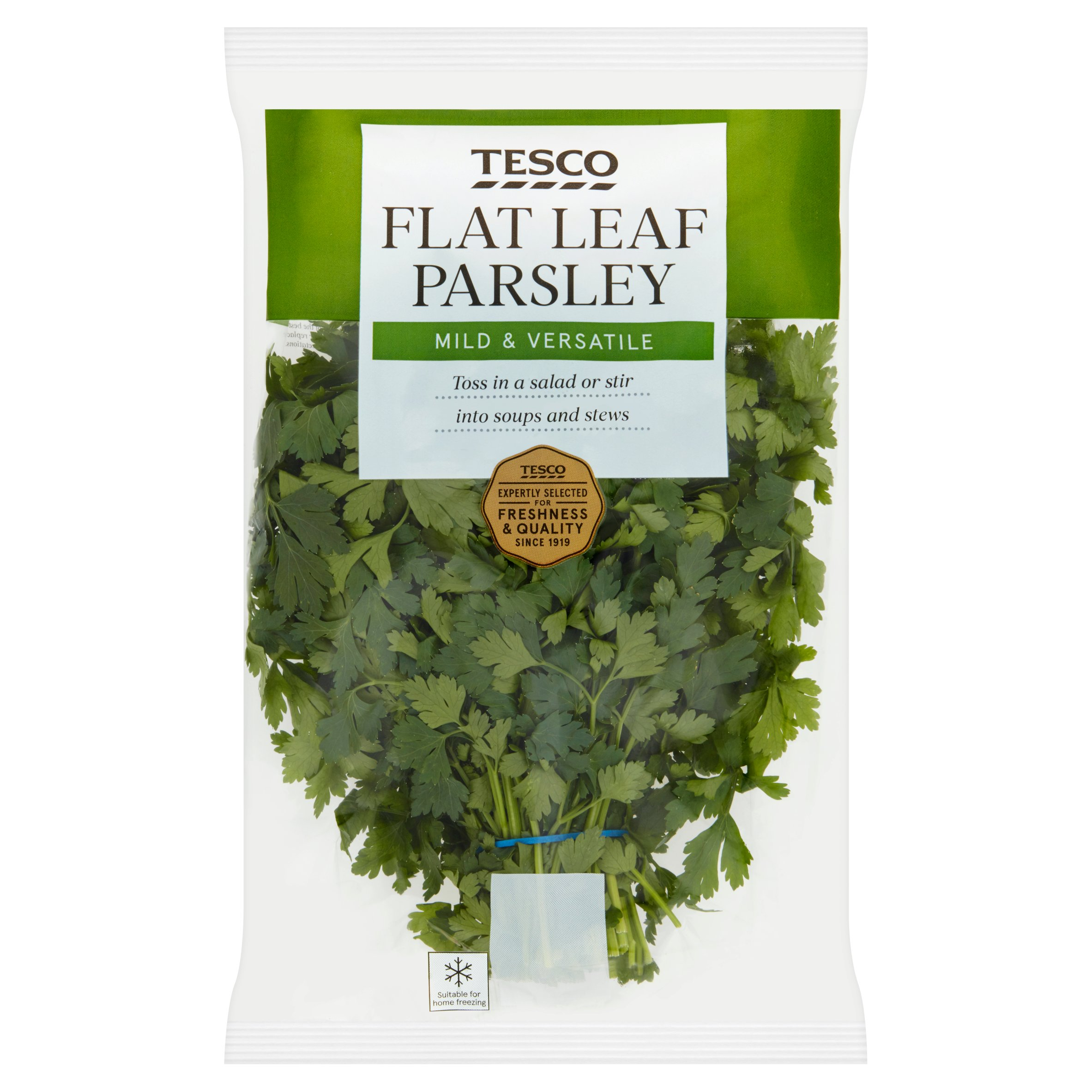 Tesco Flat Leaf Parsley 100G