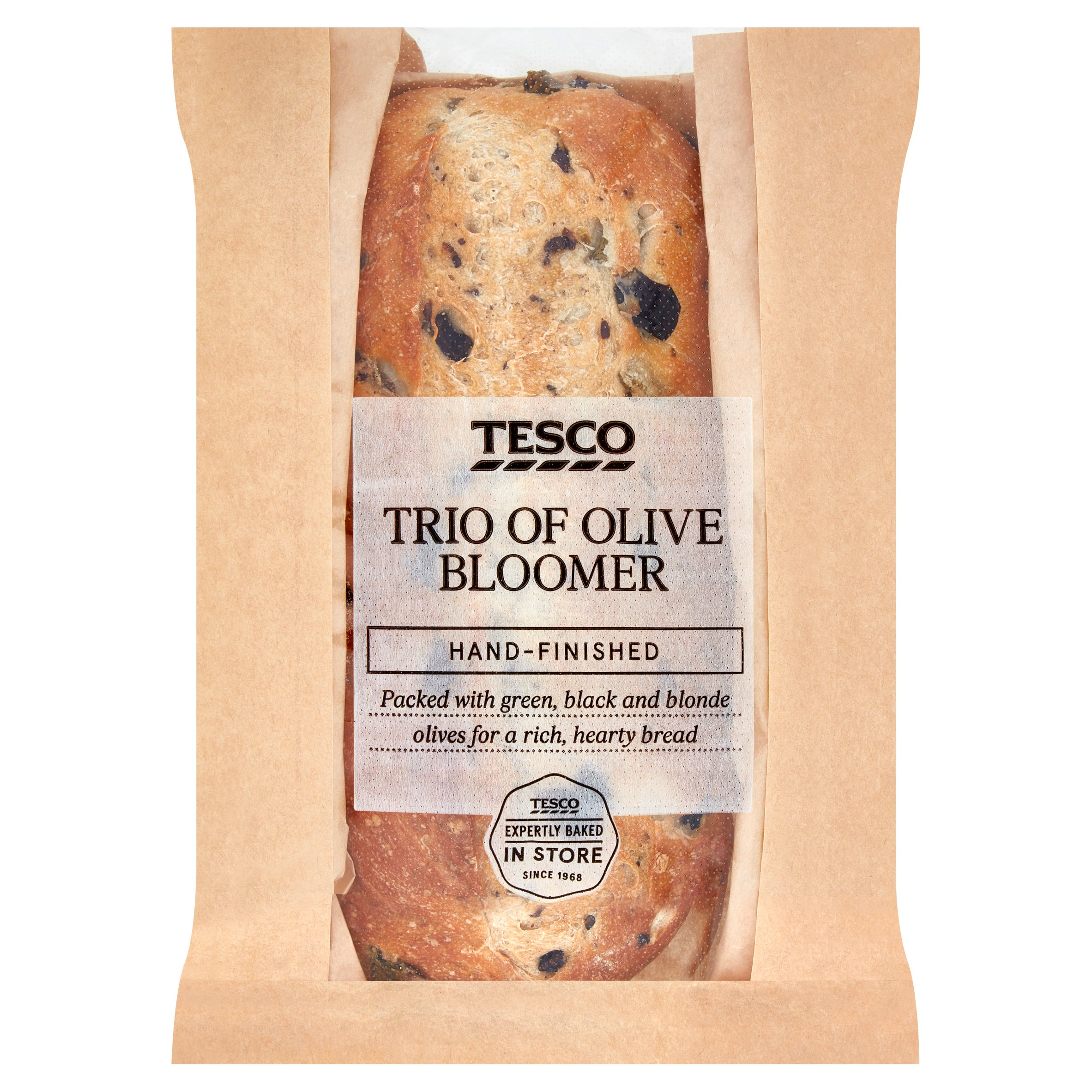 Tesco Trio Of Olive Bloomer