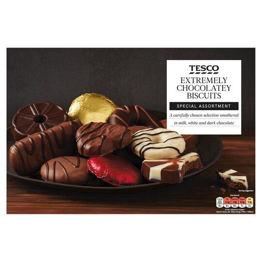 Tesco Chocolate Biscuit Assortment 450g