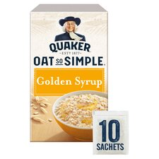 image 1 of Quaker Oat So Simple Golden Syrup Porridge 10 X 36G
