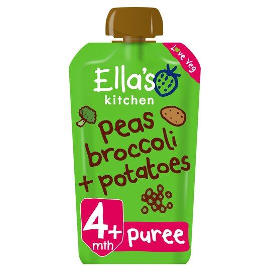 Ella's Kitchen Broccoli, Pea & Potato 120G