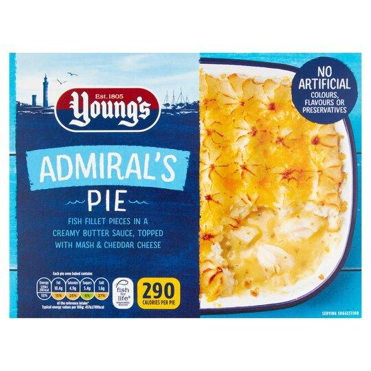 Youngs Admirals Pie 300G