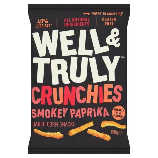 Well&Truly Crunchy Smokey Paprika 100G