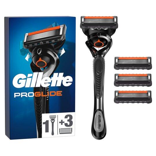 image 1 of Gillette Fusion Proglide Starter 4 Pack