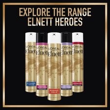 image 2 of L'oreal Paris Elnett Lumiere Supreme Hair Spray 400Ml