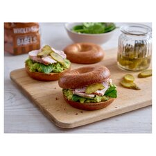 image 2 of New York Bakery Wholemeal Bagels