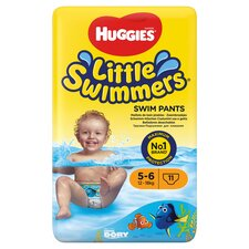 image 1 of Huggies Little Swimmers Size 5-6 12-18Kg 11 Pants