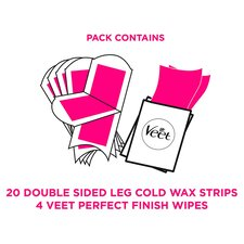 image 2 of Veet Ready To Use Wax Strips Sensitive 20'S