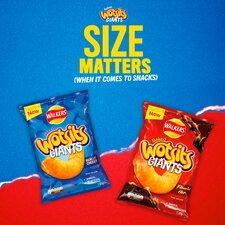 image 2 of Walkers Wotsits Giants Flamin' Hot Snacks 130G