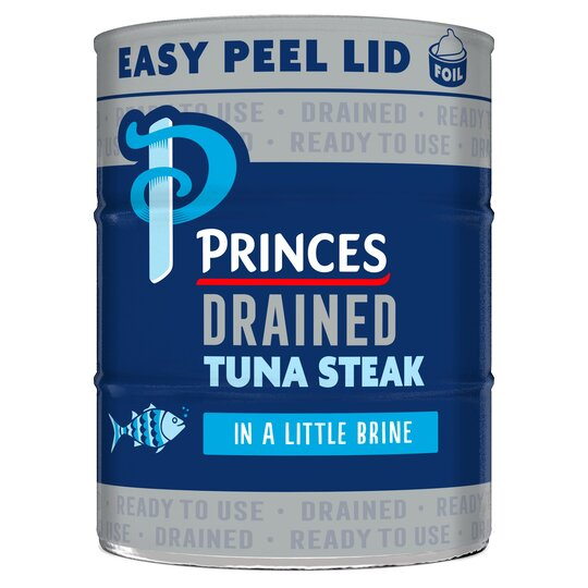 Princes Drained Tuna Steak In Brine 3X110g