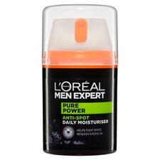 image 3 of L'Oreal Men Expert Pure Power Moisturiser 50Ml