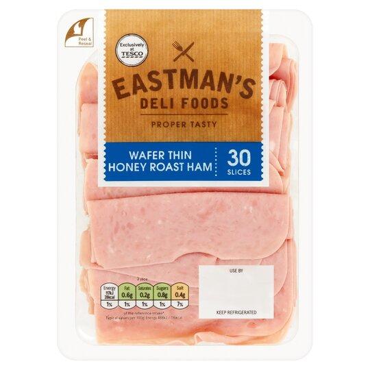 Eastman's Wafer Thin Honey Roast Ham 250G