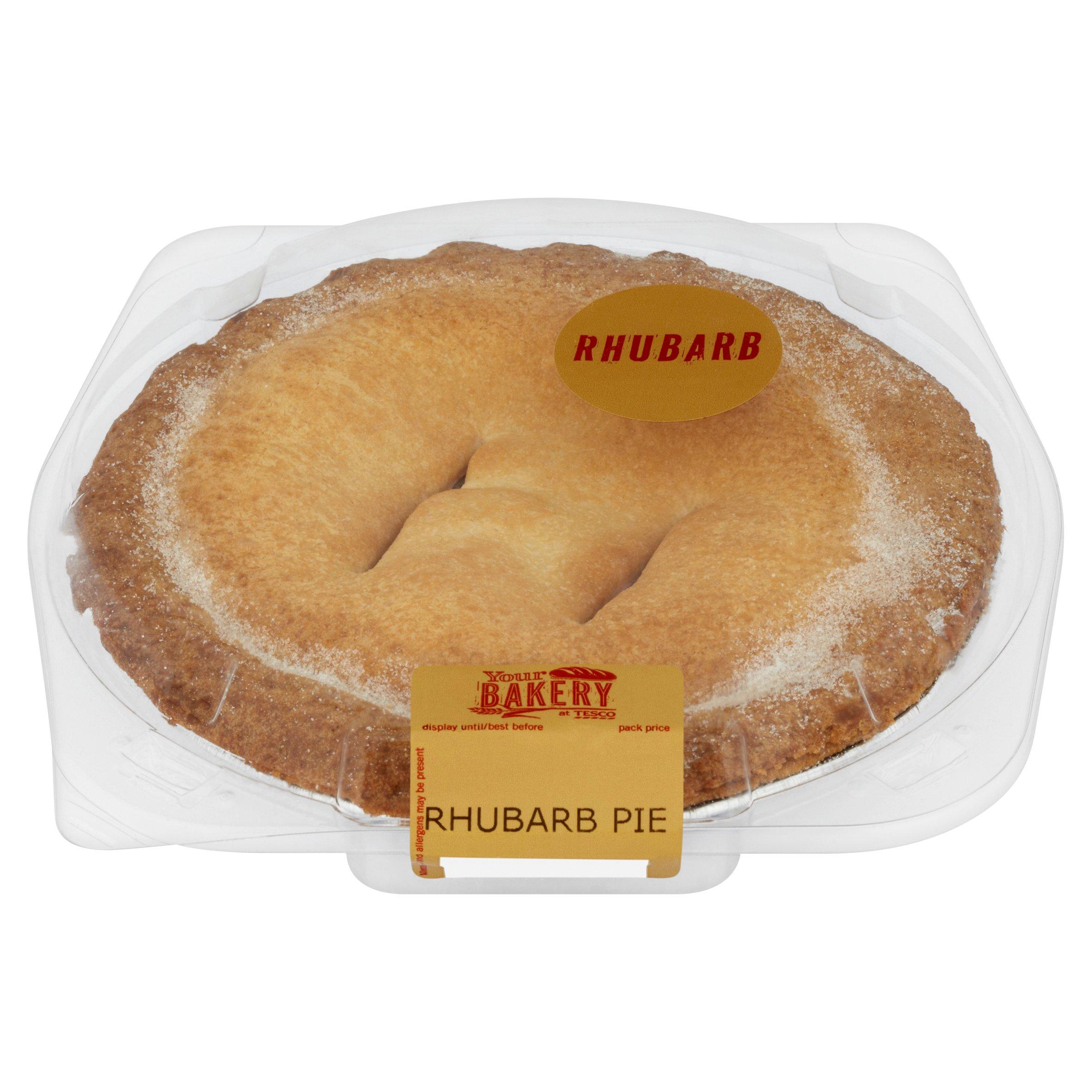 Tesco Rhubarb Pie Each