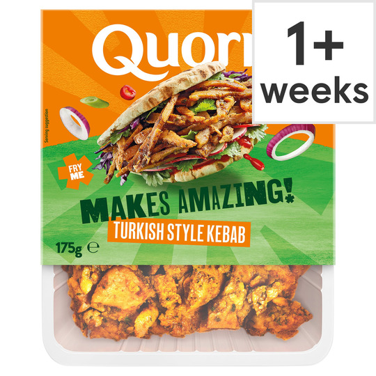 Quorn Vegan Turkish Kebab Strips 175G