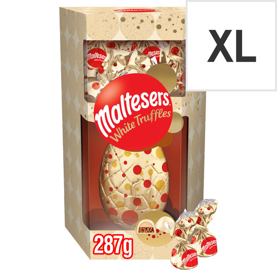image 1 of Maltesers White Choc Egg With White Trfls 287g