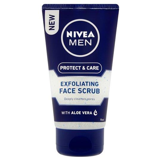 image 1 of Nivea Men Exfoliating Face Scrub 75Ml