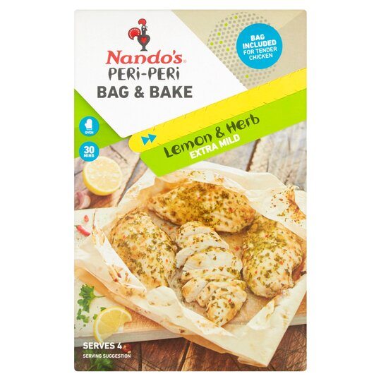 Nando's Peri Peri Bag & Bake Lemon & Herb 20G