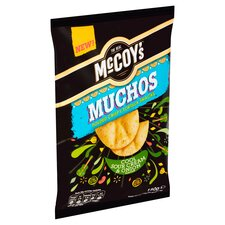 image 2 of Mccoy's Muchos Sour Cream & Onion 180G