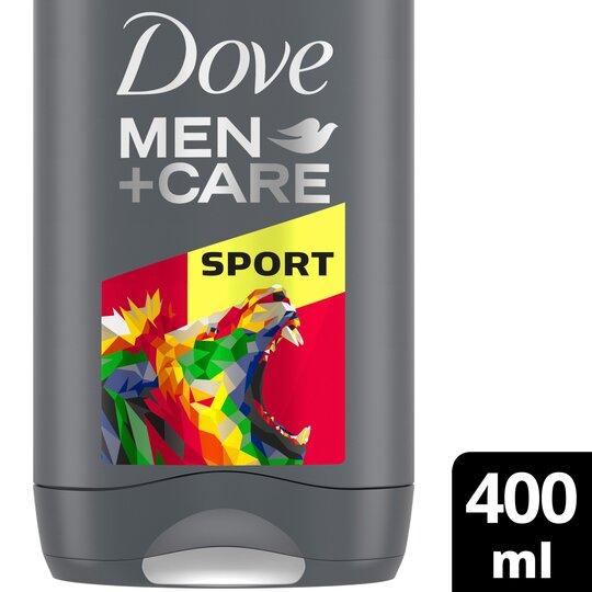 image 1 of Dove Men+Care Sport Active Fresh Body Wash 400Ml