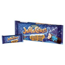 image 2 of Mcvitie's Jaffa Cakes 5 Festive Orange Yule Logs