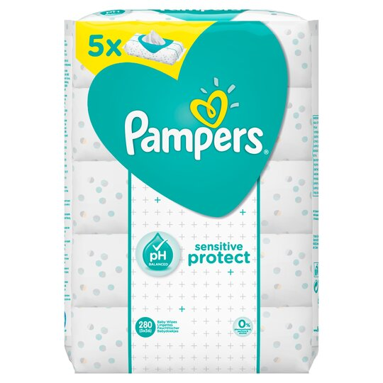image 1 of PAMPERS Sens BBY wipes 5 pack 280 wipes