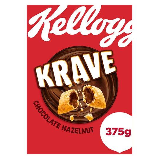 Kellogg's Krave Cereal 375G