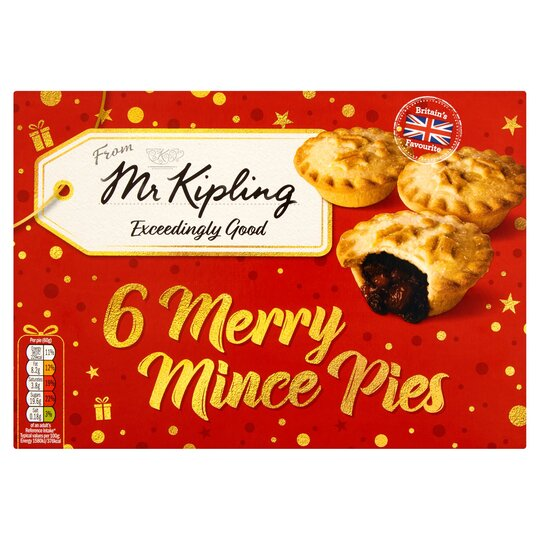Mr Kipling Mince Pies 6 Pack