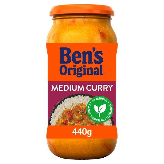 image 1 of Ben's Original Medium Curry Sauce 440G