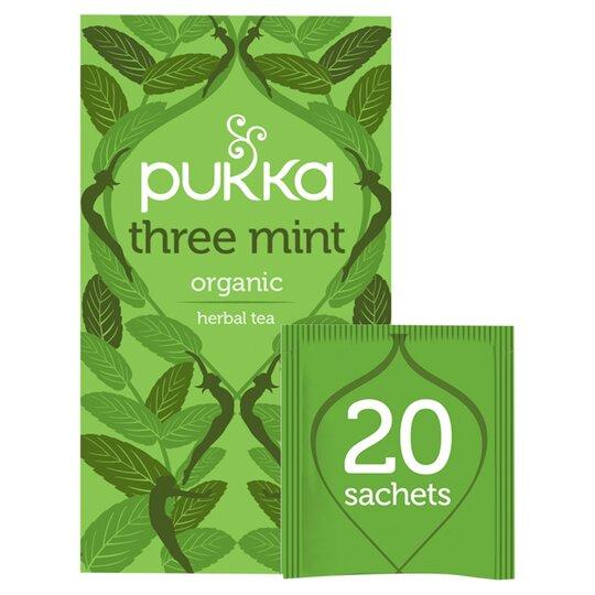 Pukka Organic 3 Mint Tea 20'S 32G