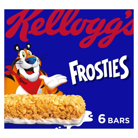 Kellogg's Frosties Cereal Bars 6 X 25G