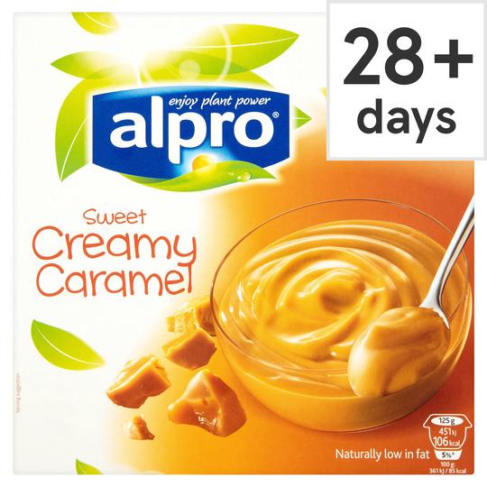 Alpro Caramel Soya Dessert 4 X 125g