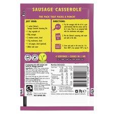 image 3 of Colman's Sausage Casserole Recipe Mix 39G