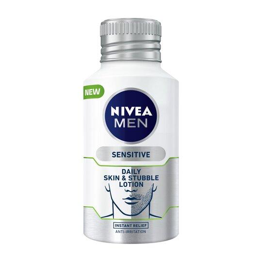 Nivea Men Sensitive Lotion Daily Skin & Stubble 125Ml