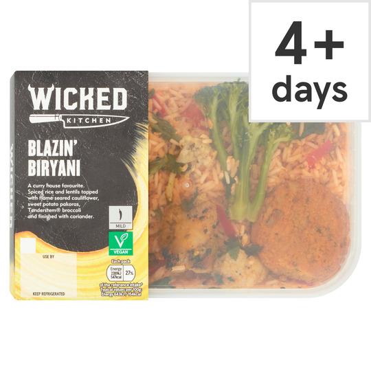Wicked Kitchen Blazin' Biryani 380G