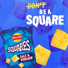 image 2 of Walkers Squares Variety Snacks 12X22g